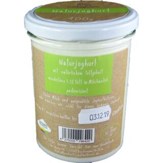 Joghurt 400g im Glas