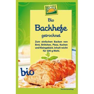 Bio-Backhefe getrocknet