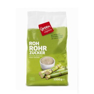 green Roh-Rohrzucker groß