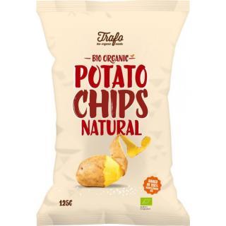 Chips gesalzen